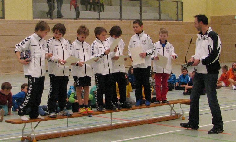 E-Jugend Winterrunde Alling Siegerehrung