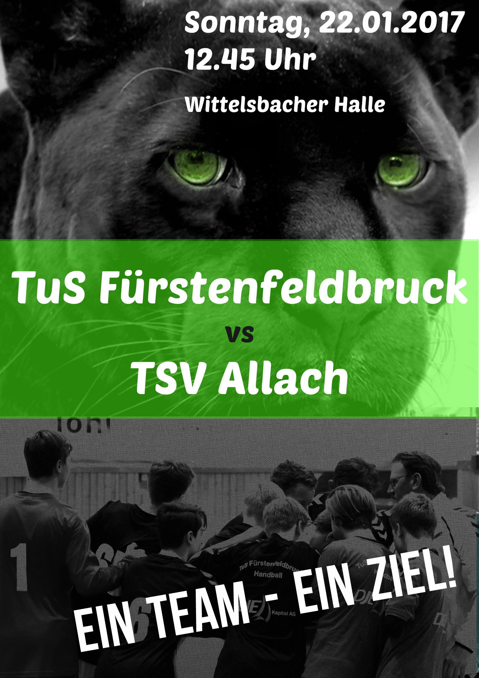 Plakat - Vorbericht Allach